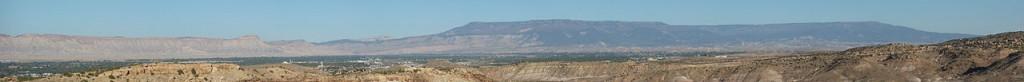 Colorado Grand Mesa and Mt. Garfield