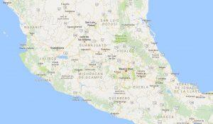 Guanajuato, Jalisco, Michoacán, Mexico, Morelia